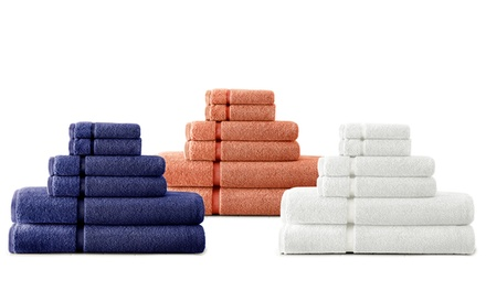 6-Piece 650GSM 100% Egyptian Cotton Luxury Towel Set