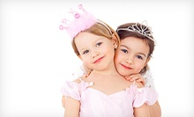 $99.99 for a Five-Day Kids’ Princess Camp at Parteaz ($300 Value). Five Dates Available.