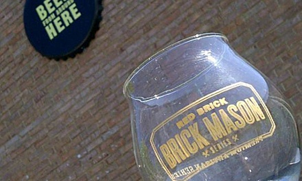 Complimentary Brewery Tour and Beer Tasting with Souvenirs for Two or Four at Red Brick Brewing Company (Up to 55% Off)