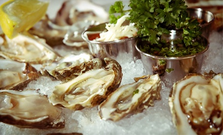 Oyster or Clam Meal for Two or Four or $40 Worth of Seafood at Dock&#x27;s Clam Bar &amp; Pasta House (Half Off)