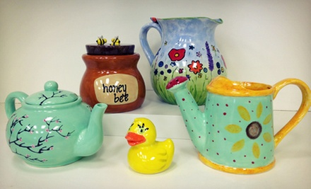 $20 for $40 Worth of Pottery Painting for Two or More at Art on Fire