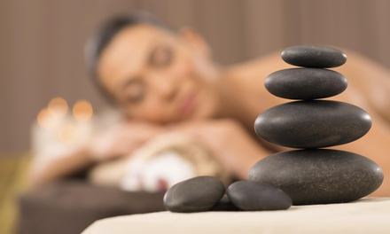 $34 for One 60-Minute Hot-Stone Massage — Peace&Tranquility