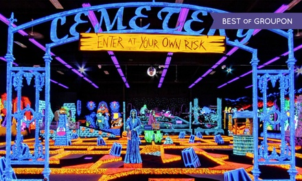 $21 for Four Rounds of Miniature Golf at Monster Mini Golf (Up to $42 Value)