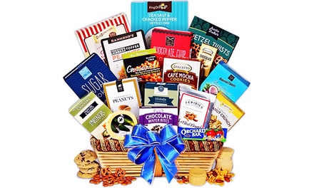 Gourmet Gift Baskets from GourmetGiftBaskets.com (Half Off). 2 Options Available.