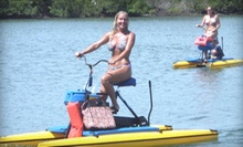 Two-Hour Rental of One Tandem Hydrobike or Two Single Hydrobikes for Two at Paddleboard New Smyrna Beach (Up to 72% Off)
