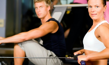 One or Three Months of Gym Membership and One Personal-Training Session at Anytime Fitness (Up to 67% Off)