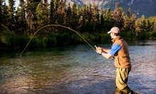 Half-Day Walk and Wade Lesson, Evening Float Fishing Trip, or Both for Two People from Rock-N-Row (Up to 51% Off)
