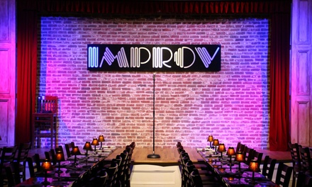 Stand Up for Two at Atlanta Improv Comedy Club & Dinner Theatre and $20 Credit at Czar Ice Bar (Up to 57% Off)