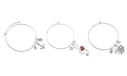 Gabby & Gia Charm Bracelets