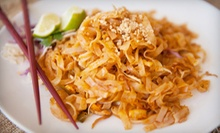 Thai Cuisine for Lunch or Dinner for Two at Bangkok Gardens (Up to 51% Off)