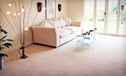 $59 for Carpet Cleaning for Three Rooms from Hardwood Floors and More ($210 Value)