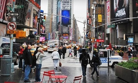 Historical Times Square Tour for One, Two, or Four from Manhattan Walking Tour (Up to 65% Off)