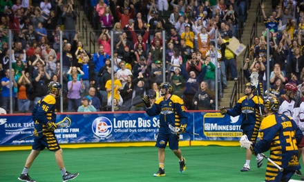 $18 for a  Minnesota Swarm Lacrosse Game  at Xcel Energy Center on March 16 or 23 or April 4 ($36.35 Value)