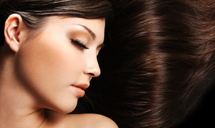 Haircut with Optional Highlights or Color from Alyson at Avatar Salon (Up to 61% Off). Three Options Available.