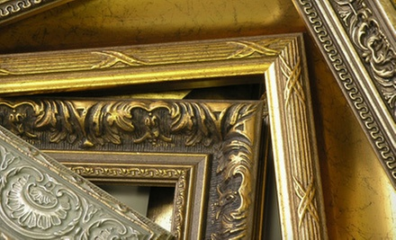 Custom Framing at Art Devons (Up to 70% Off). Two Options Available.