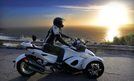 $50 Toward Can-Am Spyder Rentals