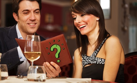 $49 for $85 Worth of Upscale Contemporary Lunch or Dinner for Two at a Mystery Location Near Westboro