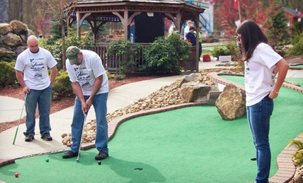 $15 for One Round of Mini Golf for Four at Chuckster's ($34 Value)