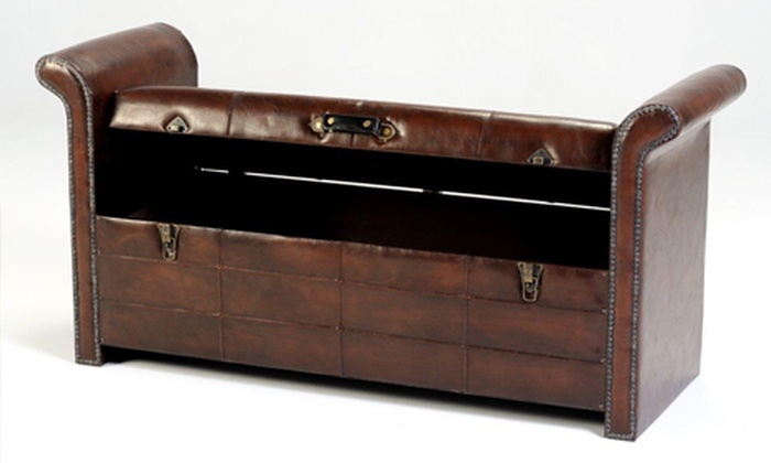 Cielo Lifestyle: Cielo Vintage Storage Bench for R1 495 Including Delivery (57% off)