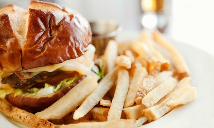 $10 for $20 Worth of Burgers, Pizza, and American Food at Musketeers Bar & Grill