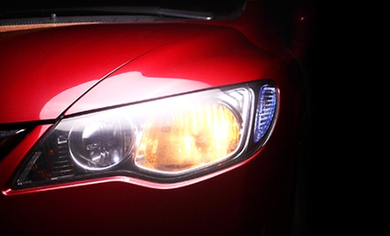 Headlight Restoration with Option for Winterization Wash and Wax at Nu Look Auto Detailing (Up to 53% Off)