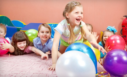Birthday Party for Up to 10 Kids or Four Open-Play Visits at Playland (Up to 56% Off)