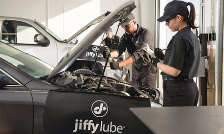 Conventional, High-Mileage, or Pennzoil Platinum Synthetic Oil-Change Package at Jiffy Lube (Up to 52% Off)