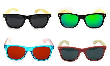 Óculos de sol de madeira iSun disponíveis em 16 modelos diferentes por 24,90€
