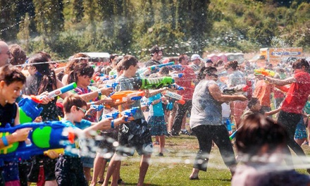 Entry for Four or Six to the World's Largest Squirt Gun Fight on Saturday, August 15 from 4US (Up to 40% Off)