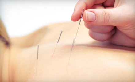 One or Three 60-Minute Acupuncture Sessions at Meridian Wellness Center (Up to 72% Off)