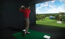 One Hour or 90 Days of Simulated Golf at Golf Anytime (Up to 71% Off)