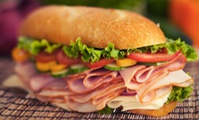 Five Half or Full Sub Sandwiches at The Captain's Galley (Up to 54% Off)