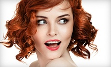 Deep Conditioning, Haircut, and Blow-Dry with Option for Full Highlights at Bella Rouge Salon and Spa (Up to 57% Off)