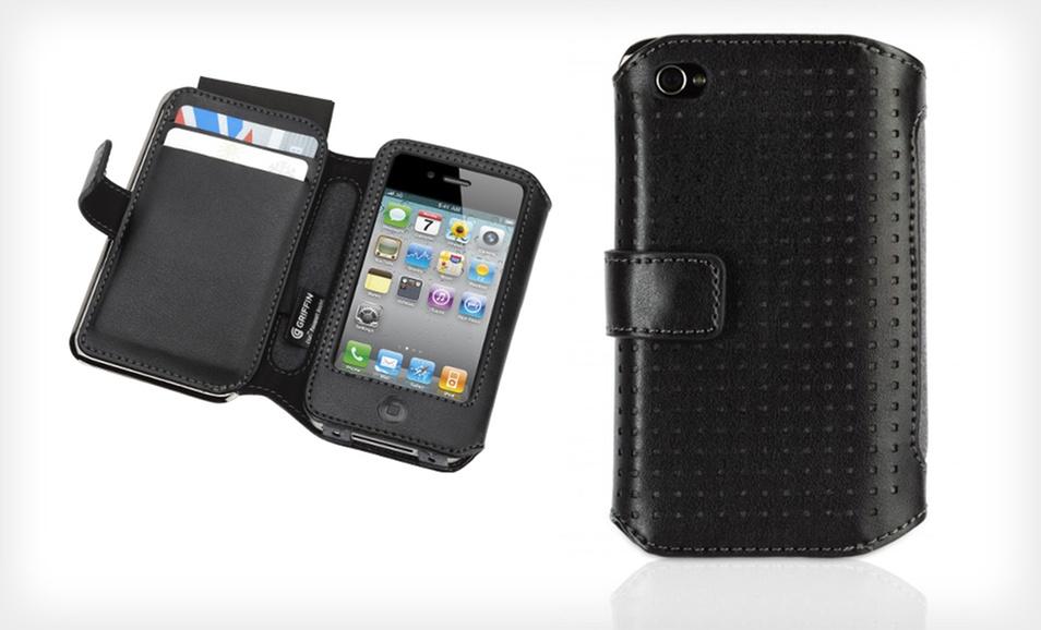 Griffin Elan iPhone 4/4S专用钱夹式保护套