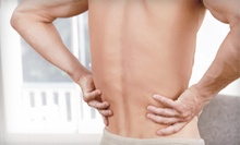 Chiropractic Consultation, Exam, and Two or Four Spinal Decompressions at Optimize Health Center (Up to 91% Off)