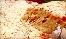 Five 16-Inch Pizzas, or $12 for $25 Worth of Any Italian Food at Amici Pizzeria