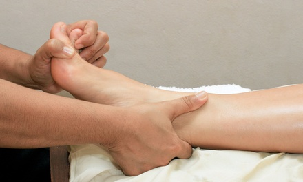 One or Three 60-Minute Foot-Therapy Sessions at Maricle's Massage Therapy (Up to 53% Off)