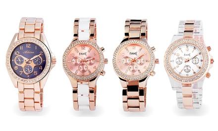 Relógio de mulher 2femme disponível em quatro modelos por 19,99€