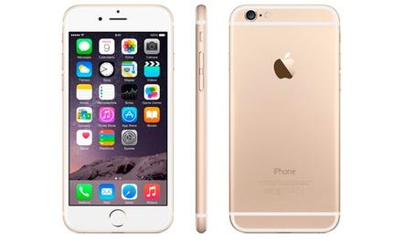 iPhone 6 de 16 GB recondicionado disponível em prateado, cinzento sideral ou dourado por 629€