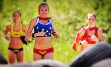 Superhero Scramble Obstacle-Course Race on (Up to 51% Off). Two Options Available.