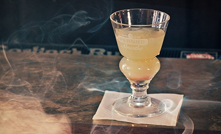 Ghost Tours and Absinthe Cocktails for Two at Milwaukee's Haunted Bar, Part of Shaker's Cigar Bar (Up to 58% Off)