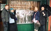 Harlem Multimedia Walking Tour for One, Two, or Four from Harlem Heritage Tours (52% Off)