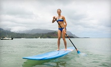 Paddleboard Rental for One or Two or a Lesson for Two with Optional Tour from Epic Surf Co (Up to 57% Off)