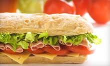 $8 for Two Large Sandwiches or Salads at Quiznos ($16.58 Value)