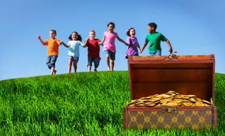 $199 for a Custom Birthday-Party Treasure-Hunt Adventure for Up to 12 Kids from Ravenchase Adventures ($400 Value)