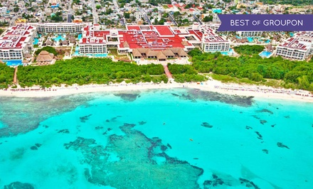 4-, 5-, or 7-Night All-Inclusive Stay for Two at Paradisus Playa del Carmen La Perla in Mexico. Includes Taxes and Fees.