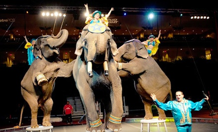 El Jebel Shrine Circus Performance at 1stBank Center on June 7, 8, and 9 (Up to 51% Off) 