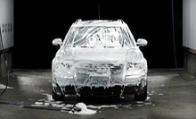 Platinum Car Wash or a Full Detail with Headlight Restoration at Hesperian 100% Hand Carwash (Up to 52% Off)