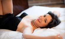$75 for an In-Studio Boudoir Photo Shoot with Two Prints at Heroic Photography ($272.98 Value)