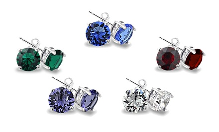 Set of 5 Swarovski Elements Stud Earrings